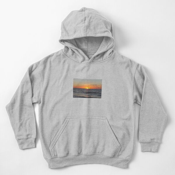 Horizon: Sun and Ocean Kids Pullover Hoodie