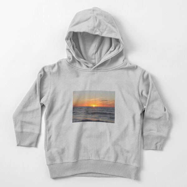 Horizon: Sun and Ocean Toddler Pullover Hoodie