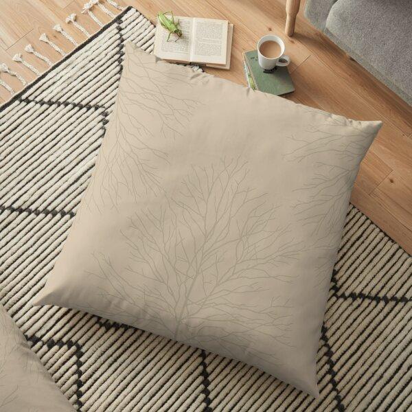 Mapple Tree - Branch Motif Floor Pillow