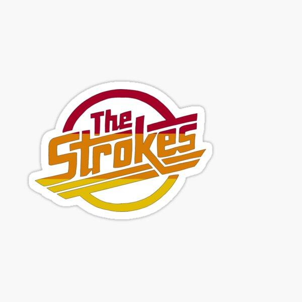 The Strokes tri-color Sticker