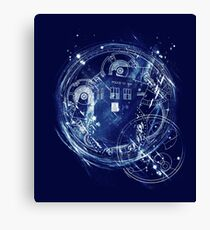 Time and space machine Canvas Print