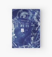 Time and space machine Hardcover Journal