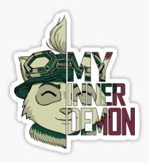 My inner demon Sticker