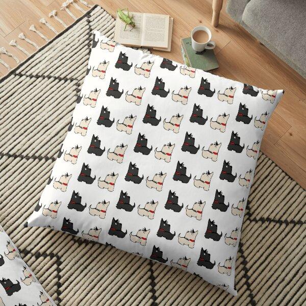 Scottie Dogs Floor Pillow