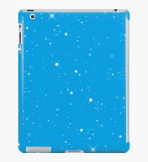 Starscape Trading Card Pattern Blue iPad Case/Skin