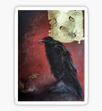 The raven king Sticker