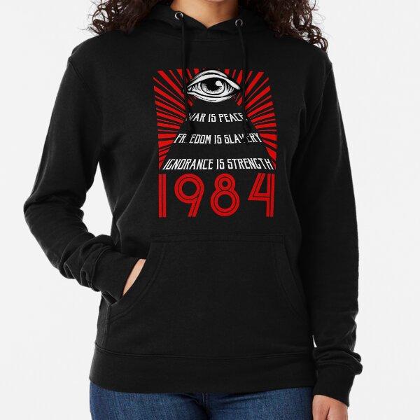 1984 Orwell Lightweight Hoodie
