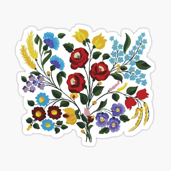 Hungarian Treasures Sticker