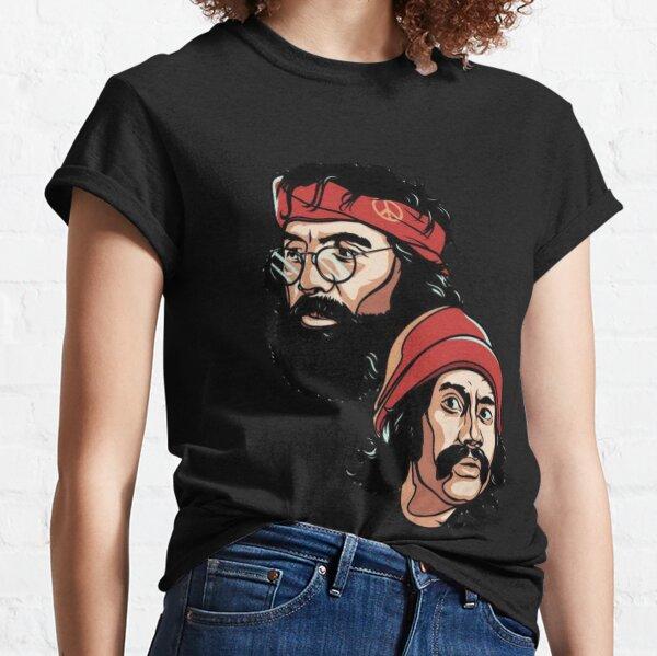 Cheech and chong with smoke Classic T-Shirt