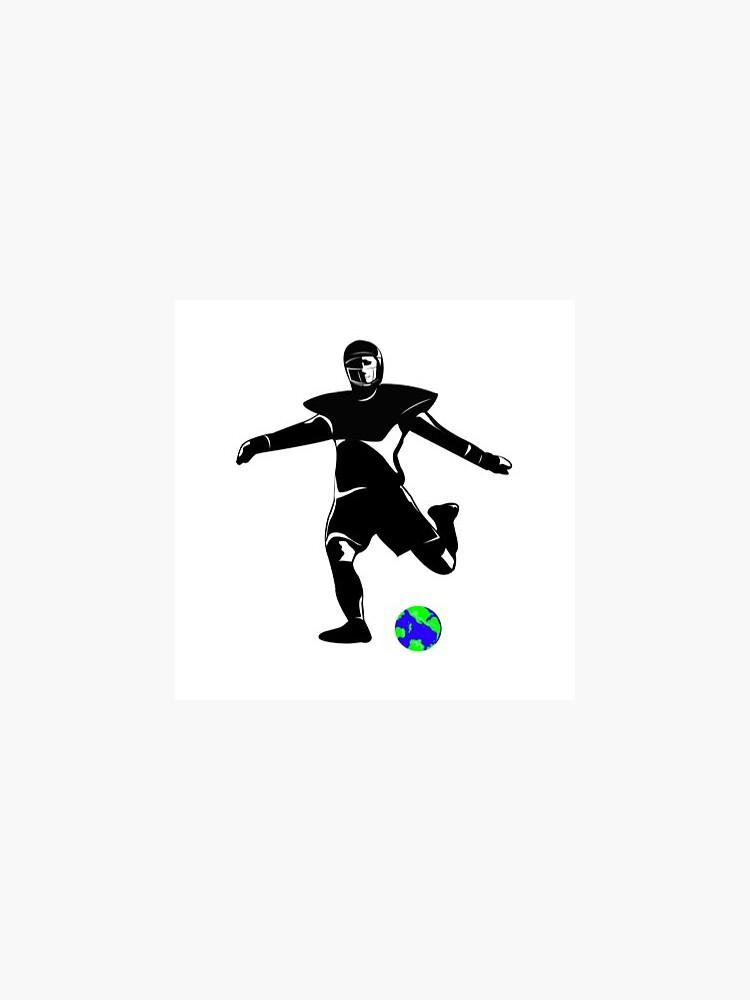 Kickers of Earth Football Kicker by kickersofearth
