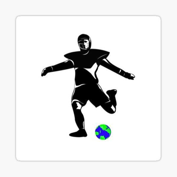Kickers of Earth Football Kicker Sticker