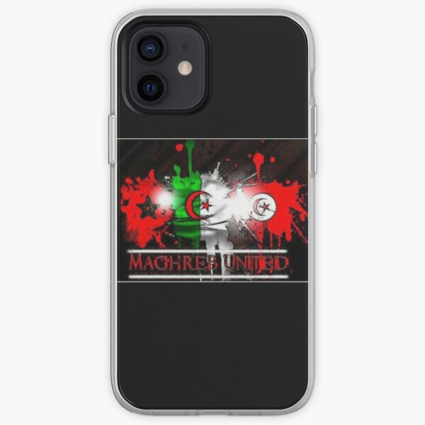 Maghreb united Coque souple iPhone