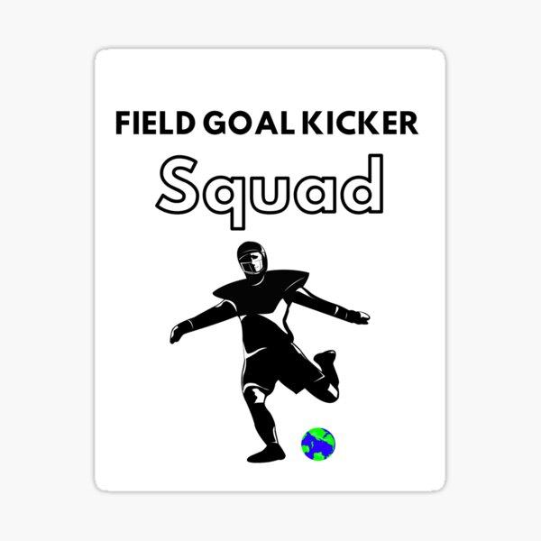 Field goal kicker squad Sticker