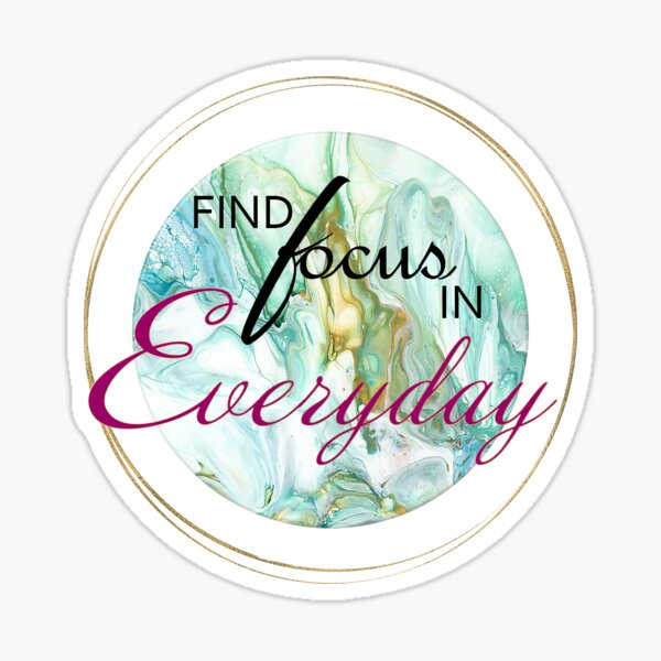 Find Focus Sticker