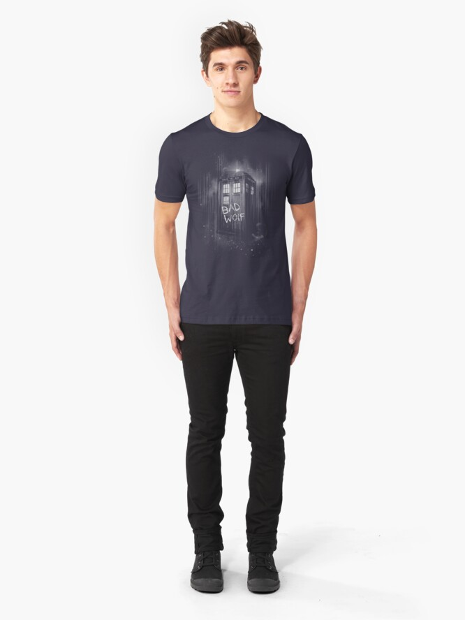 Alternative Ansicht von Schlechter Wolf Slim Fit T-Shirt