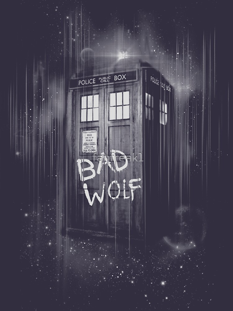 TShirtGifter presents: Bad Wolf | Unisex T-Shirt