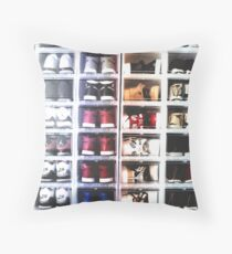 Sneaker Head - Collection Throw Pillow