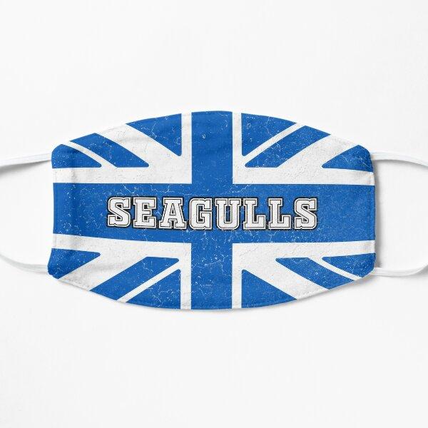 Seagulls Retro Union jack flag Flat Mask