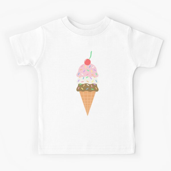 Ice Cream Cone Kids T-Shirt