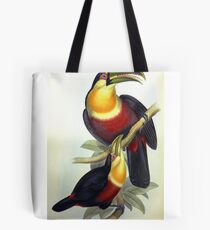 John Gould's Monograph of the Ramphastidae, or Family of Toucans, published in Tote Bag