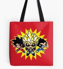 Dragonball z powerpuff style Tote Bag