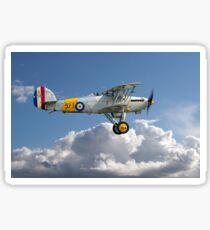 Hawker Nimrod I S1581/573 G-BWWK Sticker