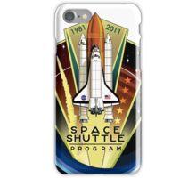 Space Shuttle Program logo iPhone Case/Skin