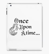 Once upon a time- logo iPad Case/Skin
