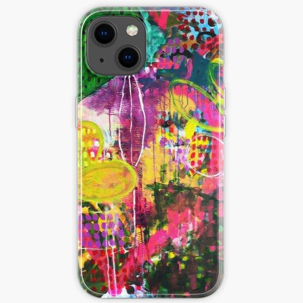 Mein glücklicher Dschungel iPhone Flexible Hülle
