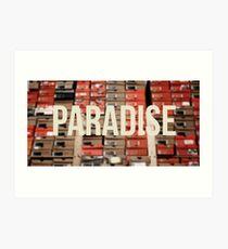 Sneaker Head - Paradise Art Print