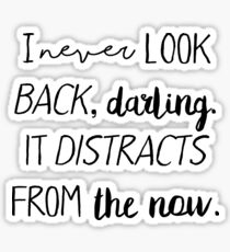 I never look back darling Sticker