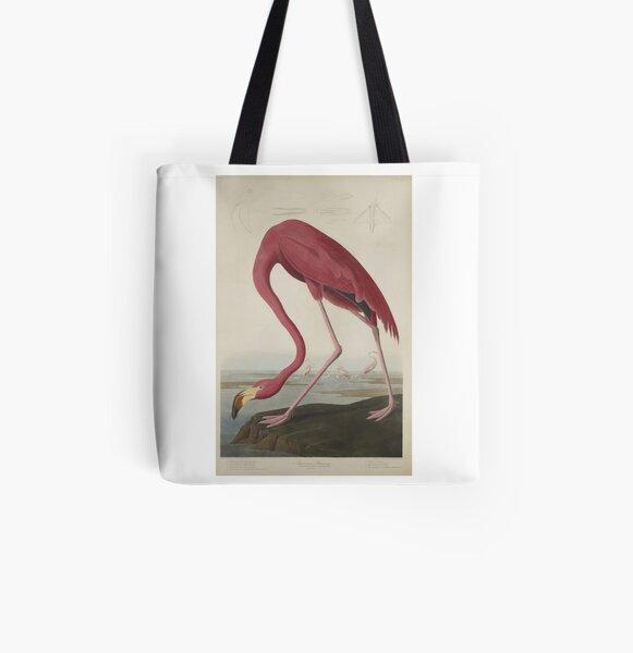 Canvas Shopping Tote Bag Black Headed Grosbeak Audubon Birds Animals Fowl Beach for Women