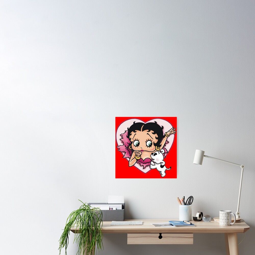 Betty Boop character  Poster