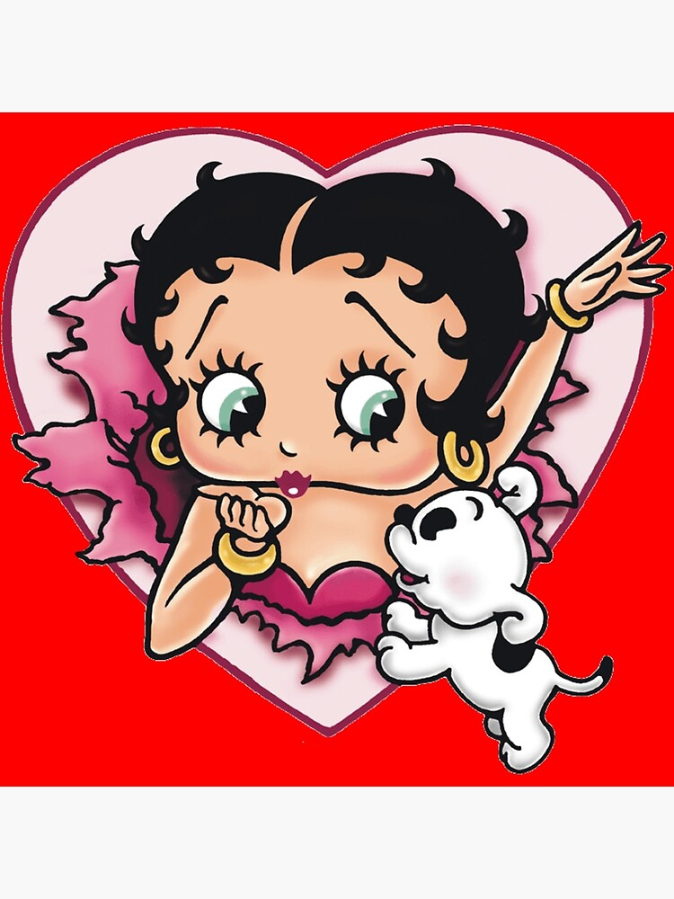 Betty Boop character  by LoudCrowd