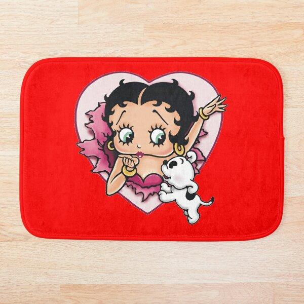 Betty Boop character  Bath Mat