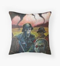 zombie troopers Throw Pillow