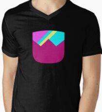 Simple Cuts - Garnet Men's V-Neck T-Shirt