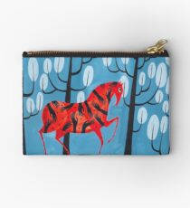 Smug red horse Studio Pouch