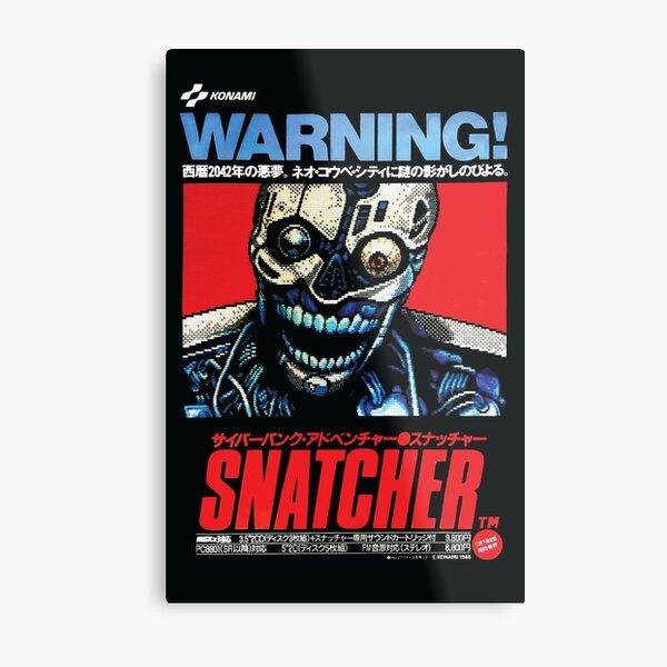 Snatcher (1988) MSX Metal Print
