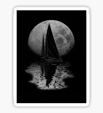 Midnight Sailing Sticker