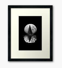 Midnight Sailing Framed Print