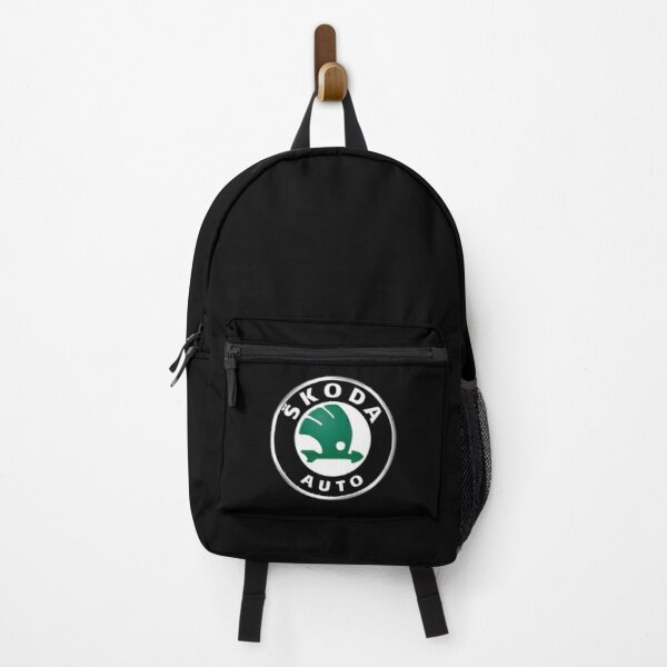 Skoda Logo Design Backpack