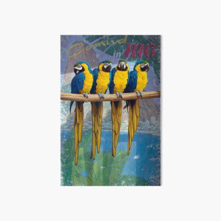 Rio Art Board Print
