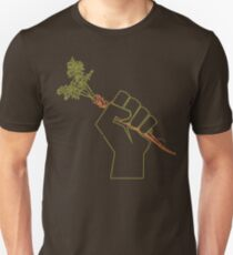 Veggie Permaculture Fist of Solidarity  Unisex T-Shirt