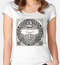 American Beer stamp - vintage Women's Fitted Scoop T-Shirt