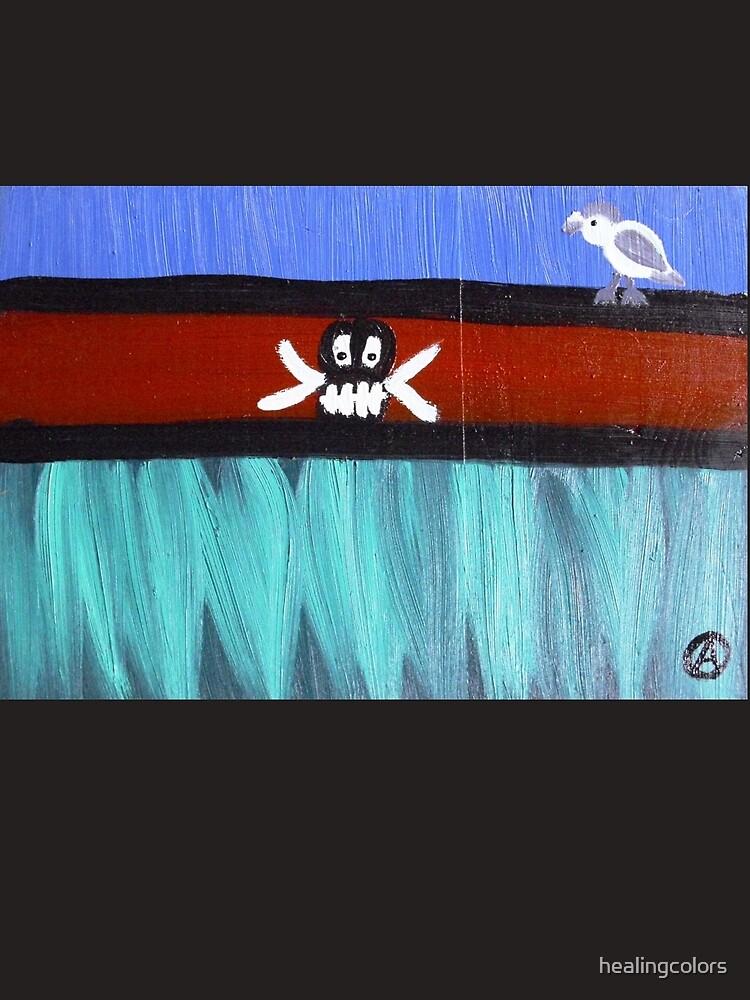 ...borderless born...art by Jutta Gabriel... von healingcolors
