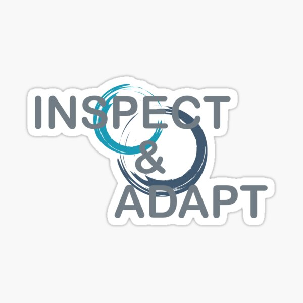 Inspect and Adapt Sticker