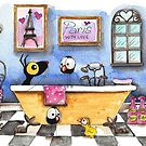 The Parisian Bath by StressieCat