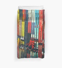 Ski Sun Valley Duvet Cover