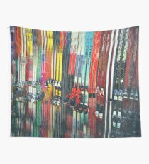 Ski Sun Valley Wall Tapestry